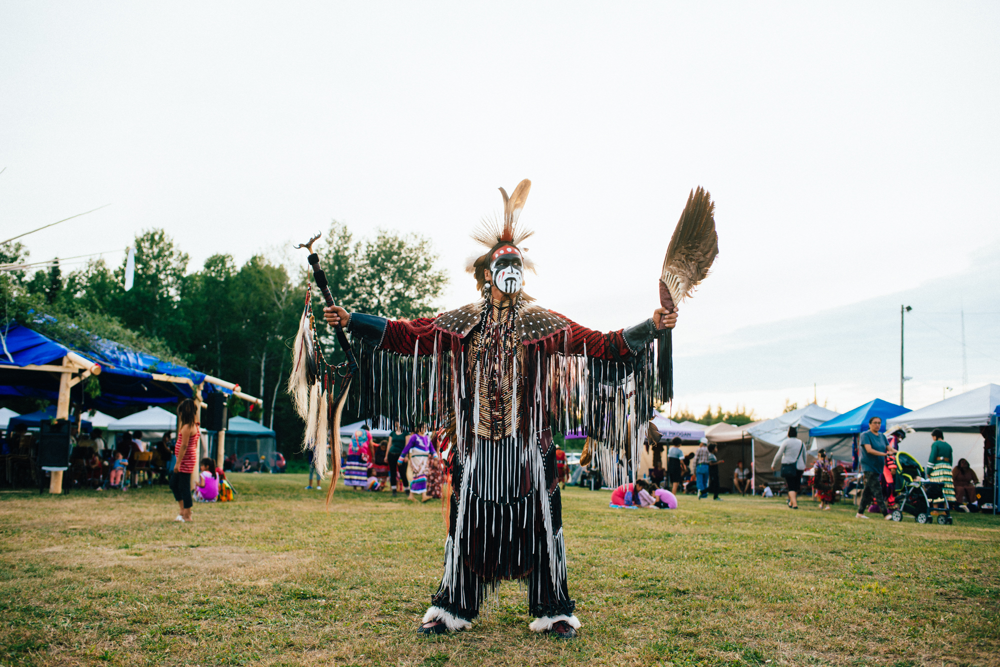 le pow-wow de lac simon